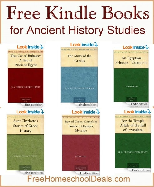 Free Kindle Books for Ancient History Studies