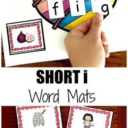 Free Short I Word Mats