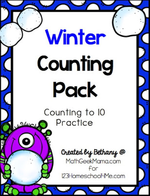 Free Winter Counting Printable Pack