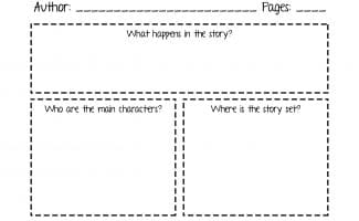 FREE MY BOOK REPORT PRINTABLE (Instant Download)
