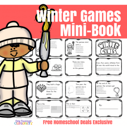 FREE WINTER GAMES MINI-BOOK (Instant Download)
