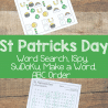 FREE ST. PATRICK'S DAY ACTIVITY PACK (Instant Download)