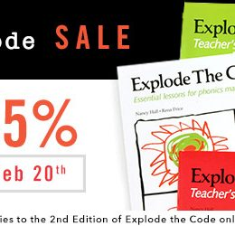 35% Off Explode the Code (2nd Edition)