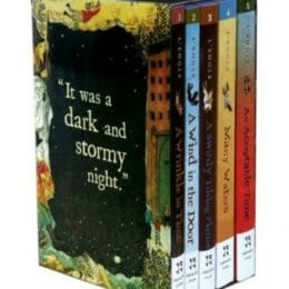 The Wrinkle In Time Quintet Boxed Set Only $10.99! (Reg. $38!)