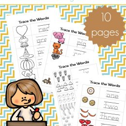 FREE HANDWRITING PRACTICE PRINTABLE PACK (Instant Download)