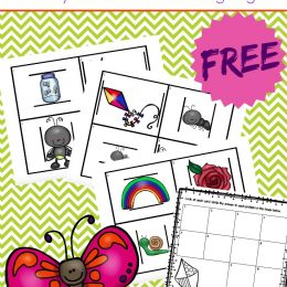 Free Spring Measurement Activity Cards