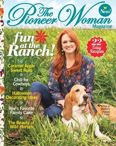 The Pioneer Woman Magazine Only $12.99/Year! (45% Off!)