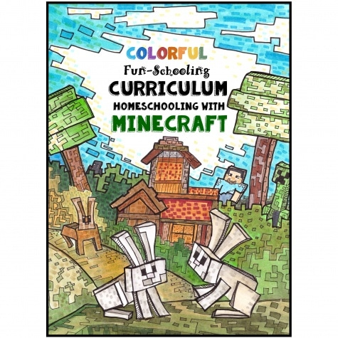 Fun-Schooling with Minecraft Homeschool Curriculum Only $15! (Reg. $50!)