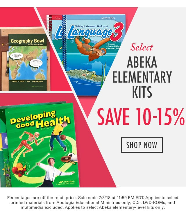 Abeka coupon code