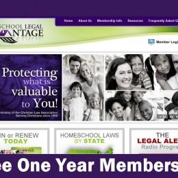 FREE First Year Membership to Homeschool Legal Advantage