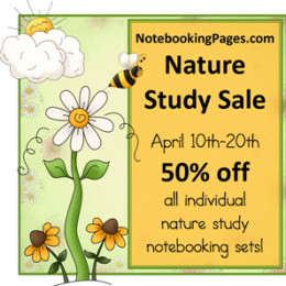 NotebookingPages.com 2012 Nature Study Sale (50%-off!)