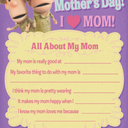 Free What's in the Bible Mother's Day Printable & $5-off Coupon!