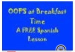 (Free) Spanish Lessons about Breakfast