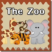 Free Zoo Preschool Printable Unit!