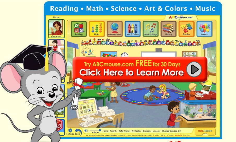 30 Day FREE Trial) ABCmouse com-Full Curriculum, Preschool