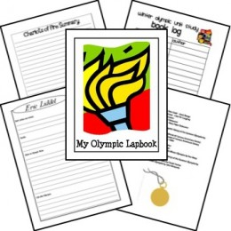 (FREE) Summer Olympics 2012 Unit Study & Lapbook