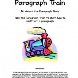 Free Paragraph Train Download – Learn to Construct Paragraphs