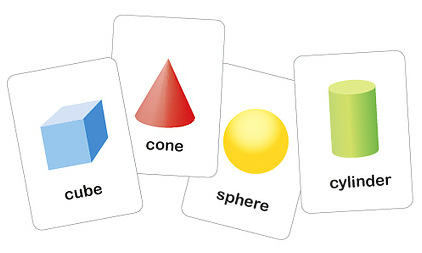 Free Printable Shapes Flash Cards