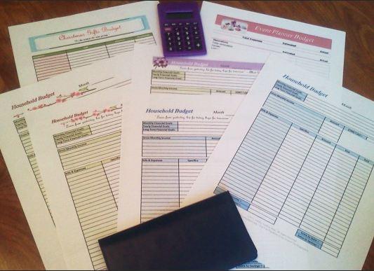 Free Printable Budgeting Worksheets | Free Homeschool Deals ©