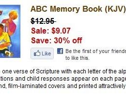 ABC Memory Book (KJV)