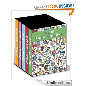 Boxed Set of Hidden Picture Books