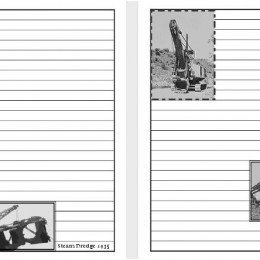 Construction Notebooking Pages