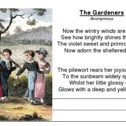 Gardeners & Horse Copywork Free Download