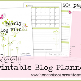 FREE 60+ Page Blog Planner Set