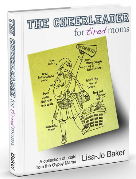 Free eBook: The Cheerleader for Tired Moms (Subscriber Freebie)