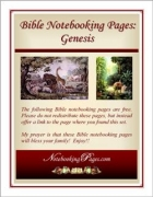Free Bible Notebooking Pages Set – Old Testament: Genesis