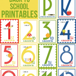 FREE Back to School Printables Grades K-12