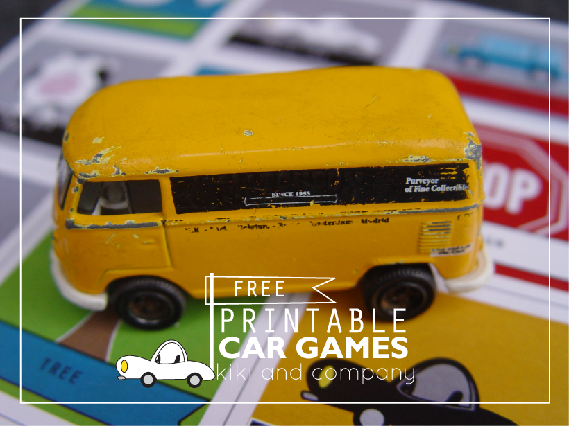 Free Printable Car Games