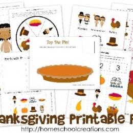 Free Thanksgiving Printable Pack