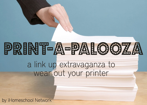 Printables Link Up Party