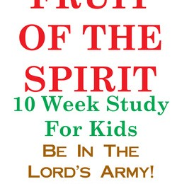 free fruit of the spirit study
