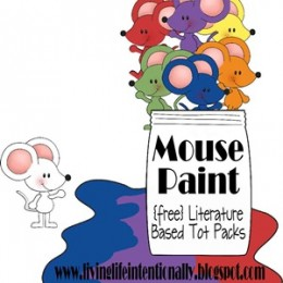 Free Mouse Paint Printable Pack