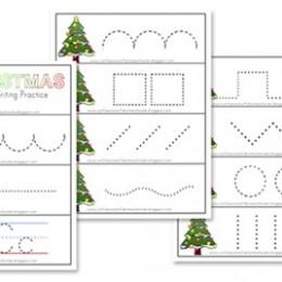 free preschool christmas printables