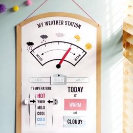 free printable weather station