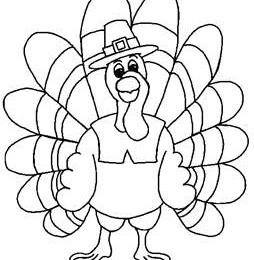 Free Coloring Pages Turkey | Thanksgiving coloring pages, Turkey ... | 260x254