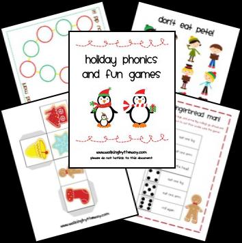 Free Christmas Printables: Christmas Games