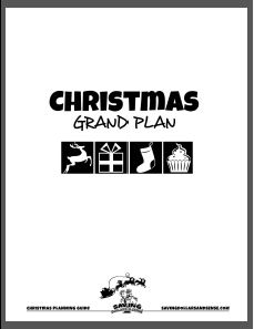 Free Christmas Planner: Subscriber Freebie
