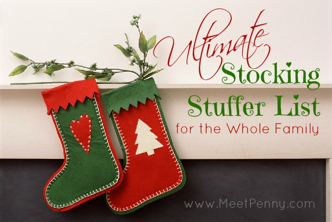 The Ultimate Stocking Stuffer List for the Entire Family (Over 500+ Ideas)