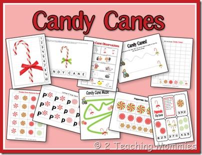 Free Candy Cane Printable Set