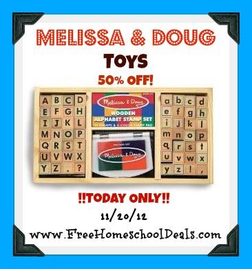 Melissa and Doug Sale