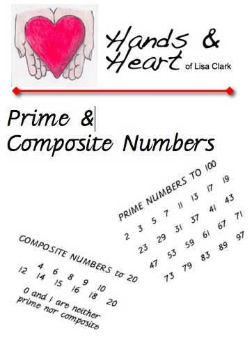 Free Math Worksheets: Prime and Composite Numbers