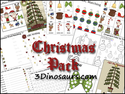 Free Christmas Printable Pack (115-Pages!)