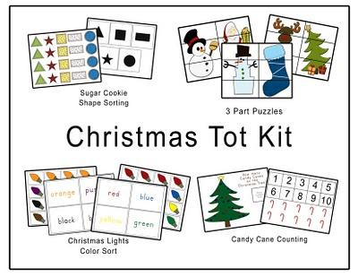 Preschool Freebies: Christmas Tot Kit