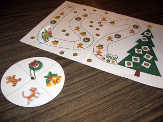 Free Decorate the Christmas Tree File Folder Game
