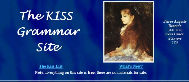 KISS  Grammar Site