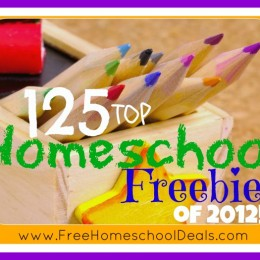 Homeschool Freebies